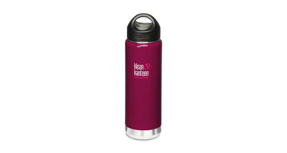Klean Kanteen Wide Insulated Drinkfles met RVS Loop Cap, 592 ml roze